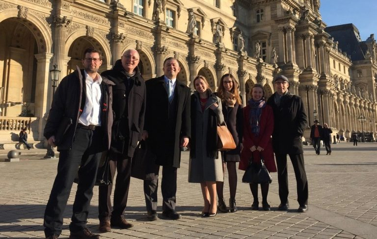 COP21 Team in Paris