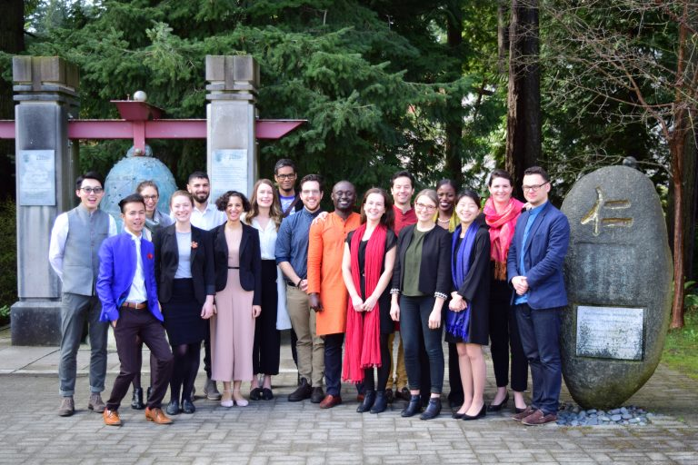 MPPGA Students at 2018 Global Policy Project Symposium