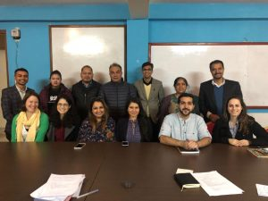 MPPGA Students Meeting with Stakeholders in Nepal