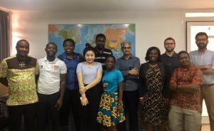 MPPGA Students in Ghana, Stakeholder Meeting