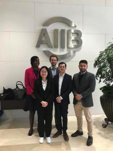 Students met AIIB